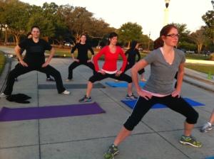 Squats.  So so so many squats,