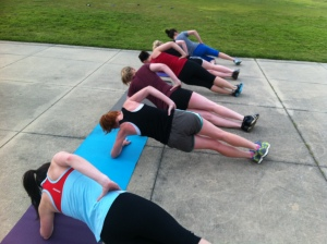 These are called Side Planks.  Normally they are rough, combine them with a hip dip and you want to beat someone up.